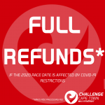 CHALLENGECAPE TOWN Offers Full Refunds If Race Date Affected By COVID-19